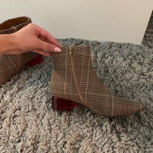 Plaid Jeffrey Campbell boots
